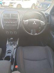 2010 Mitsubishi ASX XA MY11 2WD Silver, Chrome 6 Speed Constant Variable Wagon