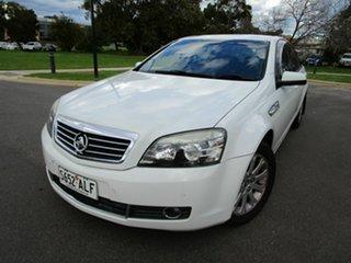 2007 Holden Statesman WM MY08 V6 White 5 Speed Auto Active Select Sedan