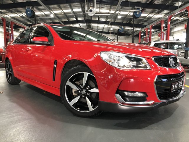 Pre-Owned Holden Commodore VF II MY17 SV6 Oakleigh, 2017 Holden Commodore VF II MY17 SV6 6 Speed Automatic Sedan