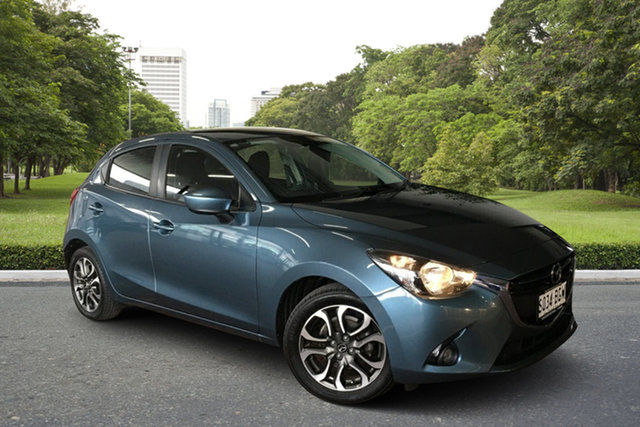 Used Mazda 2 DJ2HAA Genki SKYACTIV-Drive Paradise, 2015 Mazda 2 DJ2HAA Genki SKYACTIV-Drive Blue 6 Speed Sports Automatic Hatchback
