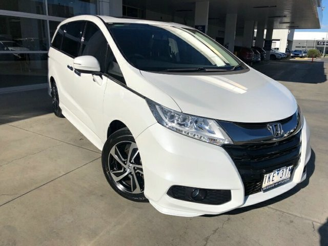 Used Honda Odyssey RC MY17 VTi-L Ravenhall, 2017 Honda Odyssey RC MY17 VTi-L White 7 Speed Constant Variable Wagon