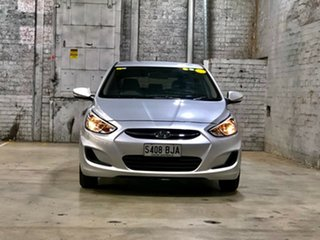 2015 Hyundai Accent RB3 MY16 Active Grey 6 Speed Constant Variable Hatchback.