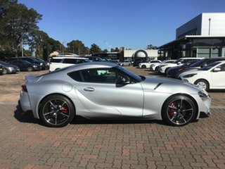 2019 Toyota Supra J29 GR GTS Silver 8 Speed Sports Automatic Coupe