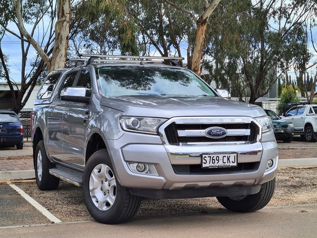 Used Ford Ranger PX MkII XLT Double Cab St Marys, 2016 Ford Ranger PX MkII XLT Double Cab Silver 6 Speed Sports Automatic Utility