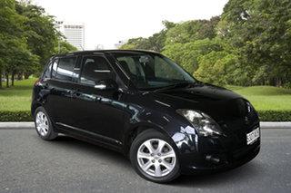 2010 Suzuki Swift RS415 RE4 Black 4 Speed Automatic Hatchback.