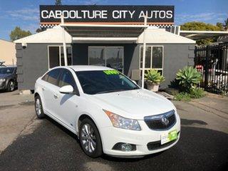 2014 Holden Cruze JH MY14 Z-Series White 6 Speed Automatic Sedan.