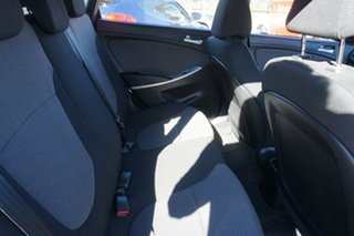 2011 Hyundai Accent RB Active Ocean Blue 4 Speed Sports Automatic Hatchback
