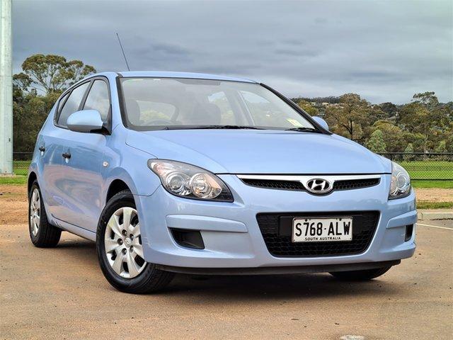 Used Hyundai i30 FD MY11 SX St Marys, 2011 Hyundai i30 FD MY11 SX Sky Blue 4 Speed Automatic Hatchback