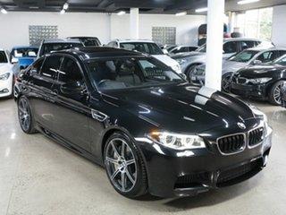2016 BMW M5 F10 LCI M-DCT Black 7 Speed Sports Automatic Dual Clutch Sedan.