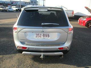 2014 Mitsubishi Outlander ZJ MY14.5 LS (4x2) Silver Continuous Variable Wagon.