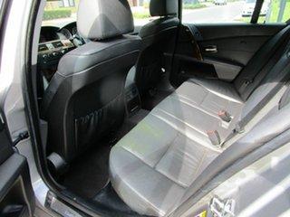 2004 BMW 530i E60 Sport Grey 6 Speed Auto Steptronic Sedan