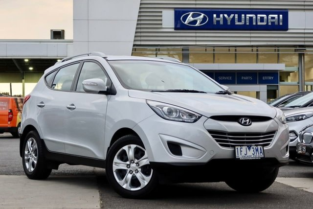 Used Hyundai ix35 LM3 MY15 Active South Melbourne, 2015 Hyundai ix35 LM3 MY15 Active Platinum Silver 6 Speed Sports Automatic Wagon