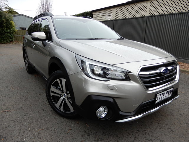 Used Subaru Outback B6A MY18 2.5i CVT AWD Premium Glenelg, 2018 Subaru Outback B6A MY18 2.5i CVT AWD Premium Gold 7 Speed Constant Variable Wagon