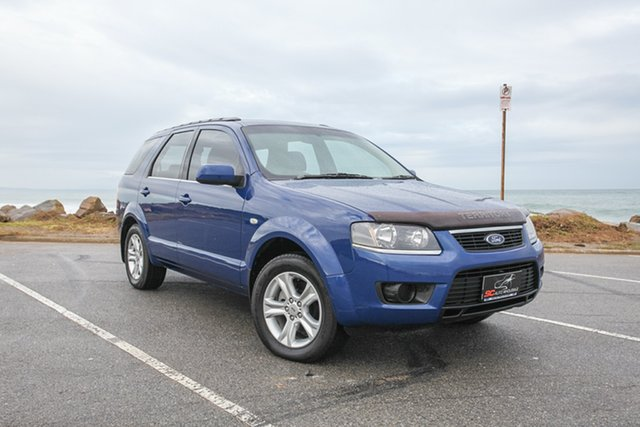 Used Ford Territory SY MkII TX Lonsdale, 2010 Ford Territory SY MkII TX Blue 4 Speed Sports Automatic Wagon