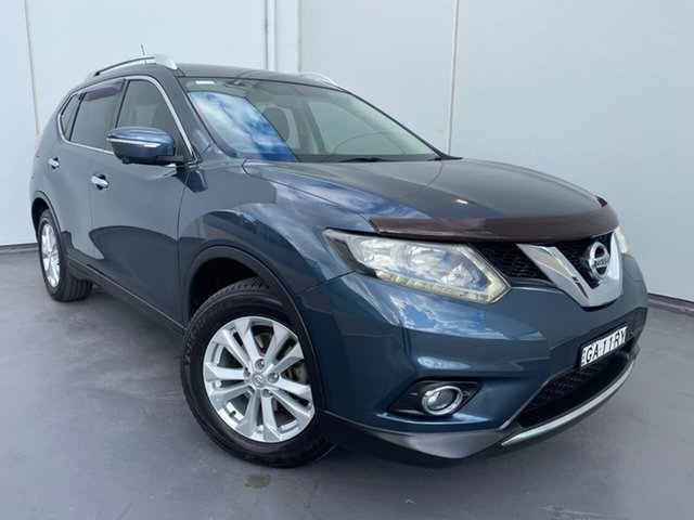 Used Nissan X-Trail T32 ST-L X-tronic 2WD Liverpool, 2014 Nissan X-Trail T32 ST-L X-tronic 2WD Blue 7 Speed Constant Variable Wagon