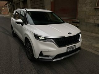 2021 Kia Carnival KA4 MY21 SLi Snow White Pearl 8 Speed Sports Automatic Wagon