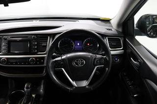 2014 Toyota Kluger GSU55R GXL AWD Black 6 Speed Sports Automatic Wagon