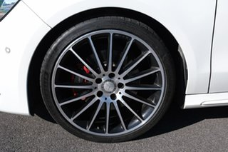 2017 Mercedes-Benz CLA-Class X117 808+058MY CLA250 Shooting Brake DCT 4MATIC Sport White 7 Speed