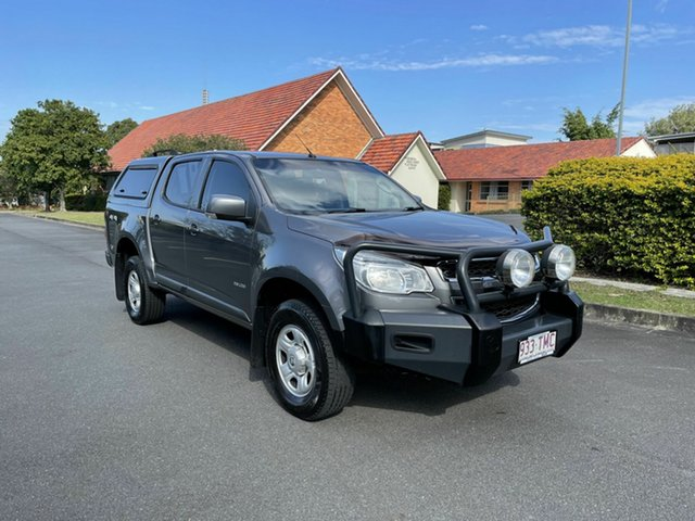 Used Holden Colorado RG LX Chermside, 2013 Holden Colorado RG LX Grey 6 Speed Automatic Dual Cab
