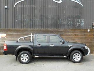 2007 Ford Ranger PJ XLT Crew Cab Black 5 Speed Automatic Utility.