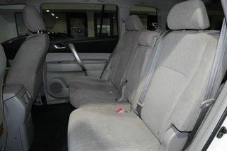 2012 Toyota Kluger GSU45R MY12 KX-R AWD White 5 Speed Sports Automatic Wagon