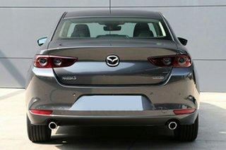 2021 Mazda 3 BP2S76 G20 SKYACTIV-MT Evolve Machine Grey 6 Speed Manual Sedan