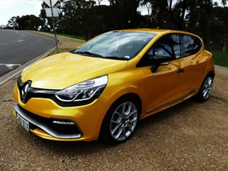 2015 Renault Clio IV B98 R.S. 200 EDC Sport Yellow 6 Speed Sports Automatic Dual Clutch Hatchback.