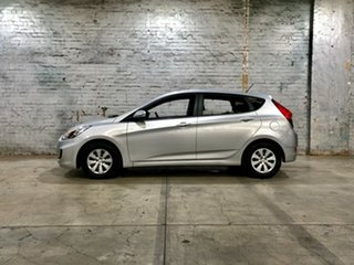 2015 Hyundai Accent RB3 MY16 Active Grey 6 Speed Constant Variable Hatchback