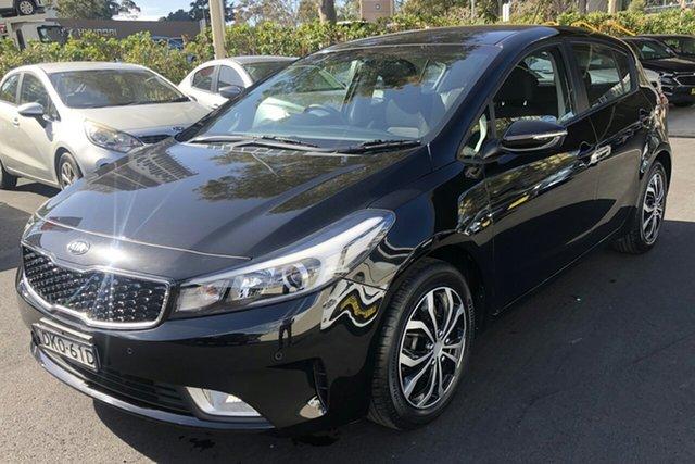 Used Kia Cerato YD MY17 S Zetland, 2016 Kia Cerato YD MY17 S Black 6 Speed Sports Automatic Sedan