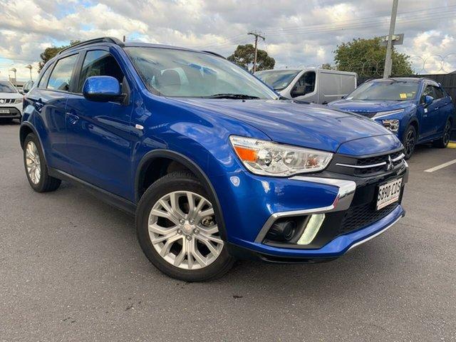 Used Mitsubishi ASX XC MY19 ES 2WD Hillcrest, 2018 Mitsubishi ASX XC MY19 ES 2WD Blue 1 Speed Constant Variable Wagon