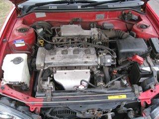 2000 Toyota Corolla AE112R Ascent Seca Red 4 Speed Automatic Liftback