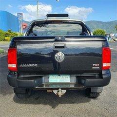 2011 Volkswagen Amarok 2H TDI400 Trendline Black 6 Speed Manual Utility