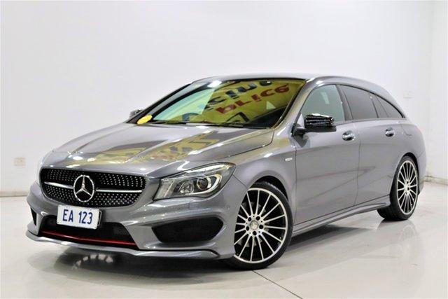Used Mercedes-Benz CLA250 117 MY15 4Matic Brooklyn, 2015 Mercedes-Benz CLA250 117 MY15 4Matic Grey 7 Speed Automatic Coupe