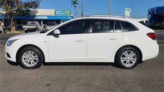 2013 Holden Cruze JH Series II CD White 6 Speed Sports Automatic Wagon.