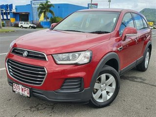 2016 Holden Captiva CG LS Red 6 Speed Sports Automatic Wagon.