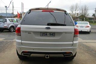 2013 Ford Territory SZ Titanium (RWD) White 6 Speed Automatic Wagon