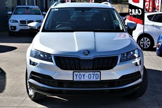 2020 Skoda Karoq NU MY21 110TSI FWD Silver 8 Speed Automatic Wagon.