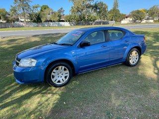 2007 Dodge Avenger JS SX Blue 4 Speed Automatic Sedan.