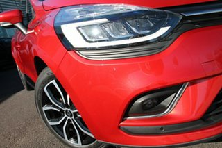 2017 Renault Clio IV B98 Phase 2 Zen EDC Red 6 Speed Sports Automatic Dual Clutch Hatchback.