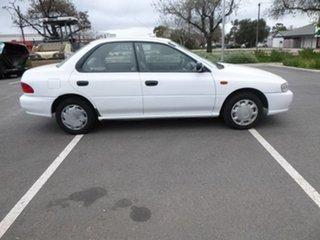 1997 Subaru Impreza N LX White Automatic Sedan.