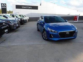 2018 Hyundai i30 PD2 MY18 Active Marina Blue 6 Speed Sports Automatic Hatchback.
