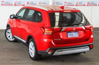 2019 Mitsubishi Outlander ZL MY19 ES 7 Seat (AWD) Red Continuous Variable Wagon.