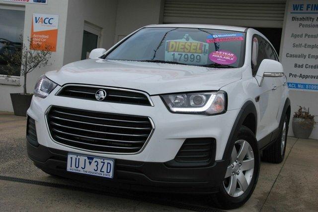 Used Holden Captiva CG MY15 7 LS (FWD) Wendouree, 2015 Holden Captiva CG MY15 7 LS (FWD) White 6 Speed Automatic Wagon