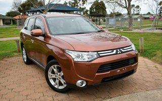 2013 Mitsubishi Outlander ZJ MY14 Aspire 4WD Bronze 6 Speed Constant Variable Wagon.