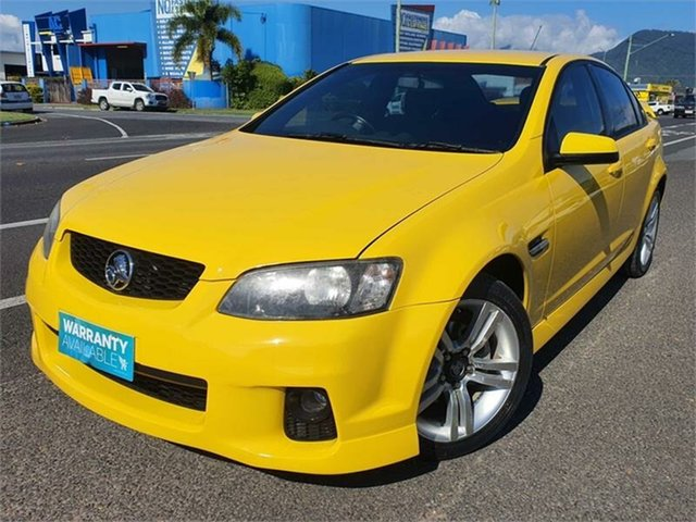 Used Holden Commodore VE II SV6 Bungalow, 2011 Holden Commodore VE II SV6 Yellow 6 Speed Manual Sedan
