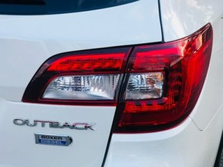 2017 Subaru Outback B6A MY17 2.0D CVT AWD Premium White 7 Speed Constant Variable Wagon