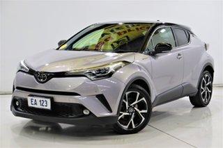 2017 Toyota C-HR NGX10R Koba S-CVT 2WD Grey 7 Speed Constant Variable Wagon.