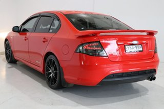 2009 Ford Falcon FG XR6 Red 6 Speed Sports Automatic Sedan.