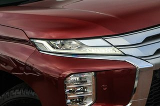 2020 Mitsubishi Pajero Sport QF MY20 Exceed Red 8 Speed Sports Automatic Wagon