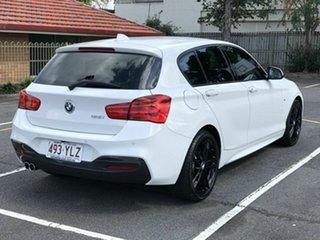 2018 BMW 1 Series F20 LCI-2 125i M Sport White 8 Speed Sports Automatic Hatchback.